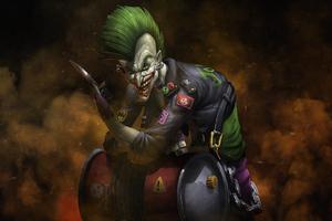 Bad Joker 5k Wallpaper
