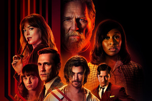 Bad Times At The El Royale Movie 2018 8k