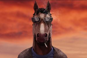 Badass Bojack Horseman Wallpaper