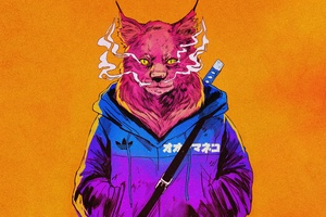 Badass Cat 4k
