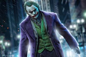 Badass Joker 4k Wallpaper