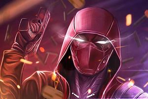 Badass Red Hood Wallpaper