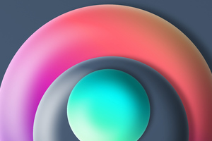 Ball Abstract 3d 8k Wallpaper