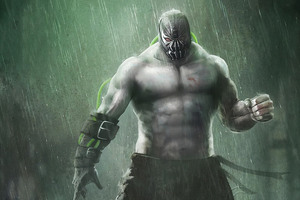Bane Hd Art Wallpaper