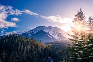 Banff Canada Landscape 5k
