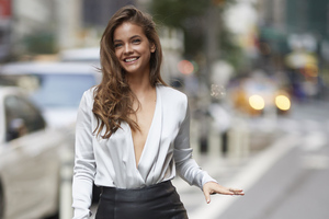 Barbara Palvin Outdoors Photoshoot