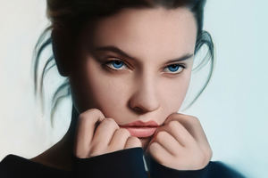BarbaraPalvin Cute Art Wallpaper