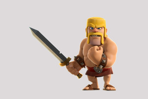 Barbarian Clash Of Clans 4k Wallpaper