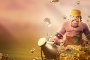 Barbarian Clash Of Clans HD