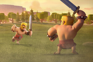 Barbarian Clash of Clans