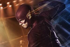 Barry Allen In Flash 2 Wallpaper