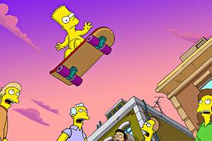 Bart Simpsons 4k Wallpaper