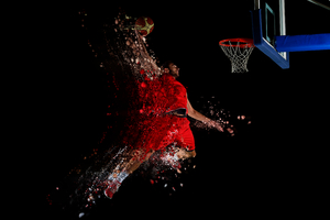 Basketball Artistic Wallpaper