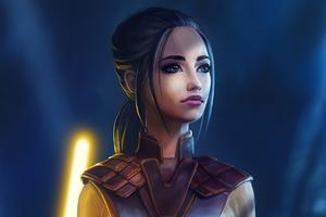 Bastila Shan Warrior Girl 4k
