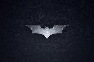 Bat Logo Dark 4k Wallpaper