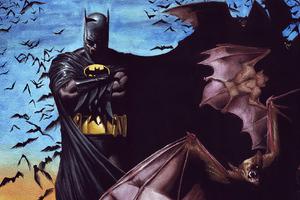 Bat Man Sketch