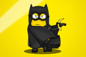 Bat Minion Wallpaper