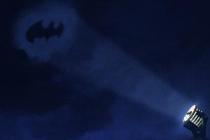 Bat Signal Art