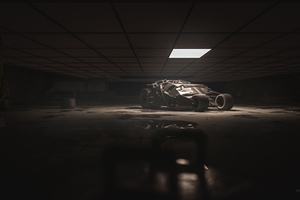Batcave Batmobile