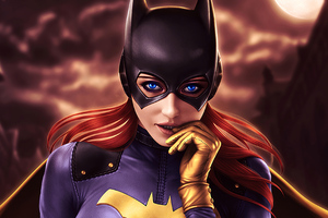 Batgirl City Angel 4k Wallpaper