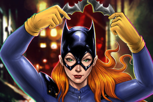 Batgirl Digital Arts