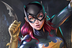 Batgirl Digital Artwork