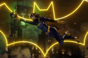 Batgirl Gotham Knights Logo 4k