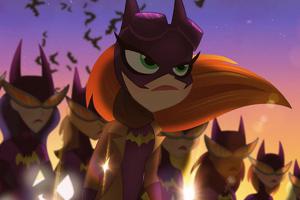 Batgirl Team 4k