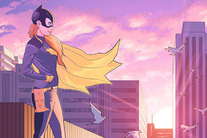 Batgirl Watching City