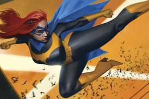 Batgirl Year Of The Villain Wallpaper