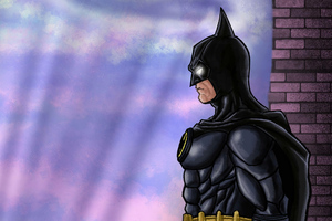 Batmam 89 Sketch Comic Art Wallpaper