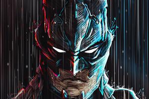Batman 4k Digital Artwork