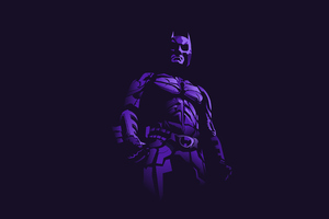 Batman 4k Minimalism Art