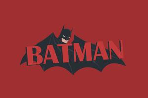 Batman 4k New Minimalism
