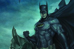 Batman 4k Portrait