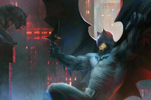 Batman 4kartwork