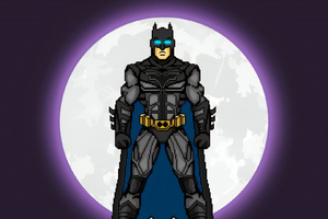 Batman 8bit Art