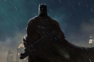 Batman Above Wallpaper