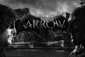 Batman And Arrow 4k