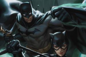 Batman And Cat Woman 4k