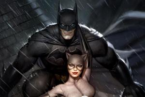 Batman And Catwoman Art