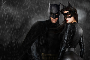 Batman And Catwoman Artwork