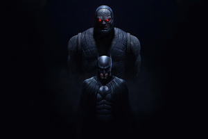 Batman And Darkseid Wallpaper