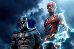 Batman And Flash 2020 Wallpaper