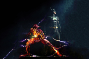 Batman And Flash 2021