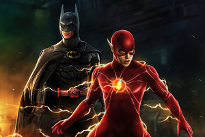 Batman And Flash Coming Wallpaper