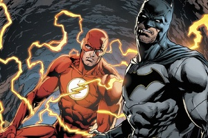 Batman And Flash DC Comics