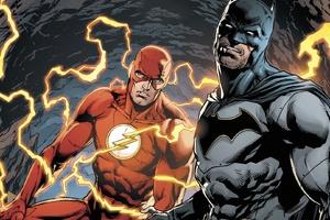 Batman And Flash DC Comics Wallpaper