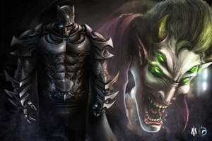 Batman And Joker Art