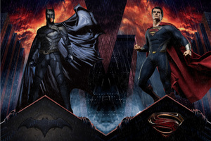 Batman And Man Of Steel